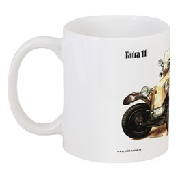"Кружка ""Ретроавтомобили 6"" - ретро, рисунок, автомобили"