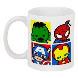 """Кружка """"Мстители"""" - арт, комиксы, супергерои, pop art, мстители"""