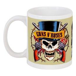 "Кружка ""Guns N' Roses"" - metal, рок, rock, heavy metal, фанат, glam, guns n roses, метал, металлист, хэви метал"