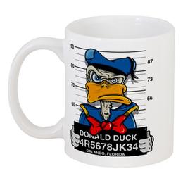"""Кружка """"Мультфильмы Диснея, Арт"""" - дисней, donald duck, дональд дак, дейзи дак, daisy duck"""