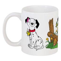 """Кружка """"101 долматинец"""" - мультяшки, собака, долматинец"""
