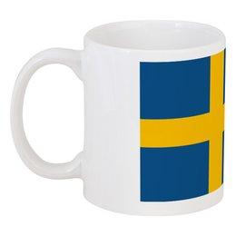 """Кружка """"Шведский флаг"""" - страны, флаги, скандинавия, швеция, стокгольм"""