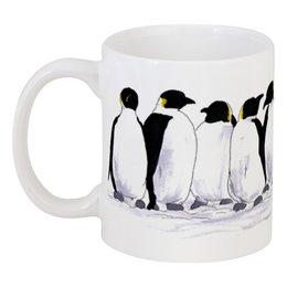 """Кружка """"Пингвины"""" - птица, пингвин, холод, север"""