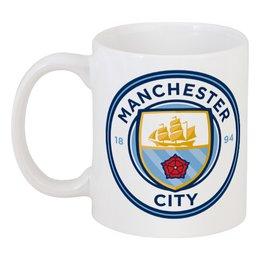 "Кружка ""Manchester City"" - manchester city, манчестер сити, мс, ман сити"