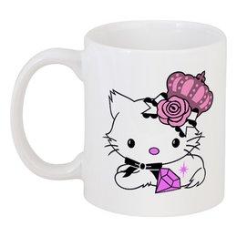 """Кружка """"Кошка королева"""" - hello kitty, популярные, в подарок, оригинально"""