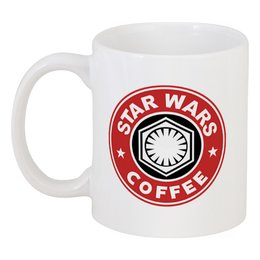 """Кружка """"Star Wars coffee"""" - звёздные войны, пробуждение силы, starbucks"""