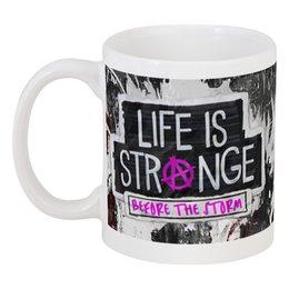 "Кружка ""Life is strange игра"" - life is strange, хлоя прайс, макс колфилд"