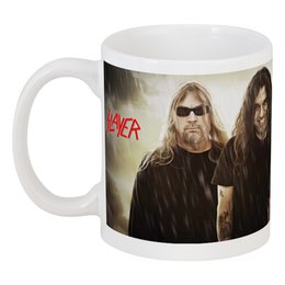 """Кружка """"Slayer 2012"""" - музыка, чай, металл, slayer, thrash metal"""