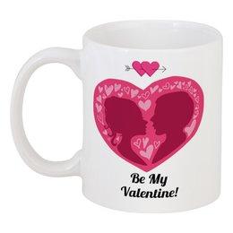 """Кружка """"День святого Валентина"""" - любовь, сердца, день святого валентина, 14 февраля, день влюблённых"""
