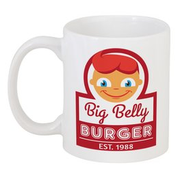 "Кружка ""Big Belly Burger"" - fast food"