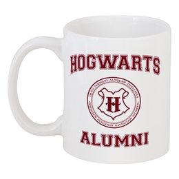 "Кружка ""Выпускник Хогвартса"" - harry potter, гарри поттер, хогвартс, hogwarts, школа магии"