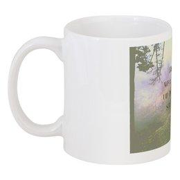 "Кружка ""Стиль арт-фэшн ""pine forest"""" - надписи, лес, природа, фэнтази, author's photo"