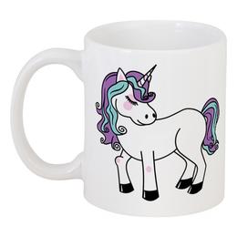 """Кружка """"Единорог"""" - лошадка, пони, лошадь, единорог, мифы"""