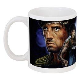 "Кружка ""Rambo"" - кино, боевик, сильвестр сталлоне, rambo, sylvester stallone"