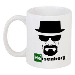"""Кружка """"Heisenberg"""" - во все тяжкие, breaking bad, walter white, уолтер уайт, хайзенберг"""