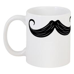 """Кружка """"Кружка-усы"""" - в подарок, усы, mustache, stache"""
