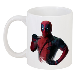 "Кружка ""Deadpool"" - супергерой, марвел, hero, дэдпул"