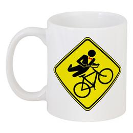 """Кружка """"Велосипедист"""" - спорт, велосипед, велоспорт, велосипедист"""