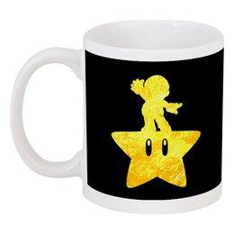 """Кружка """"Марио ( mario )"""" - звезда, марио, mario"""