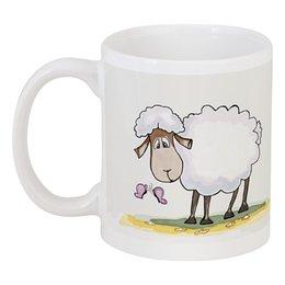 "Кружка ""Милая овечка"" - sheep, овечка"