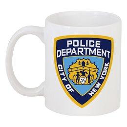 "Кружка ""NYPD"" - сериалы, ny, castle, полиция, nyc"
