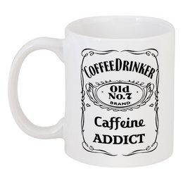 "Кружка ""Кофеман"" - кофе, coffee"