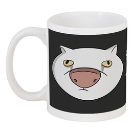 """Кружка """"Кто прочитал тот здохнет"""" - кот, мем, мемы"""