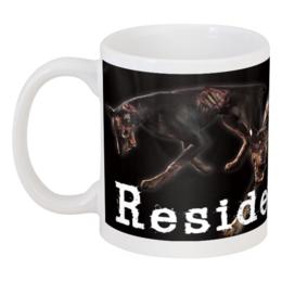 "Кружка ""Resident Evil Cerberus"" - зомби-собаки, survival horror"