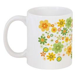 """Кружка """"Хиппи"""" - цветы, философия, хиппи, мировозрение"""