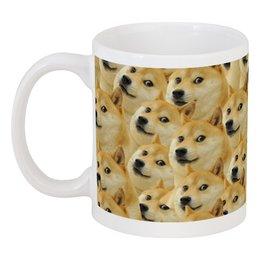 """Кружка """"DOGE DOGE"""" - мем, dog, собака, meme, doge"""