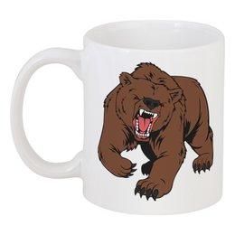 """Кружка """"BEAR / Медведь"""" - арт, животные, медведь, иллюстрация"""