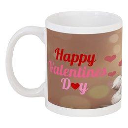 "Кружка ""Happy Valentine's Day"" - любовь, love, с днём святого валентина, валентинки, happy valentine's day"