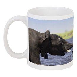 """Кружка """"ЛЮБОВЬ"""" - любовь, красота, природа, пара, слоны"""