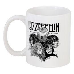 """Кружка """"Led Zeppelin"""" - музыка, рок, группы, rock and roll, led zeppelin"""