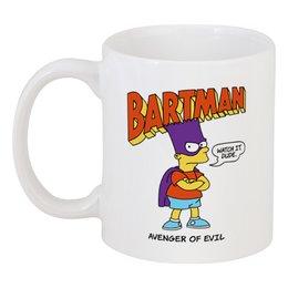 """Кружка """"Бартмен"""" - прикольные, супергерои, симпсоны, барт симпсон, бартмен"""