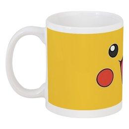 "Кружка ""Пика-чу!"" - nintendo, pokemon, покемон, пикачу"