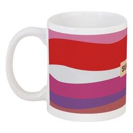 """Кружка """"красные волны"""" - купить, чай, кофе, напитки, кружку"""