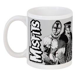 """Кружка """"Misfits """" - punk rock, misfits, punk, панк, анархия"""