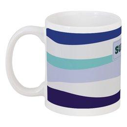 """Кружка """"морские волны"""" - купить, кружку, чай, кофе, мужскую"""