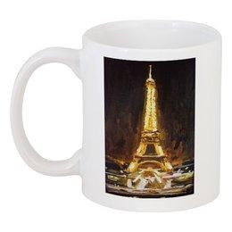 "Кружка ""Без названия"" - шоколад, париж, paris, эйфелева башня"