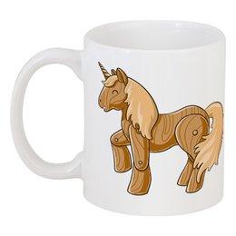 """Кружка """"Единорог"""" - пони, лошадь, единорог, мифы"""