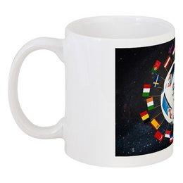 """Кружка """"ЕВРО 2016: Чемпионат по футболу во Франции"""" - футбол, евро2016, чемпионат по футболу, кубок европы"""
