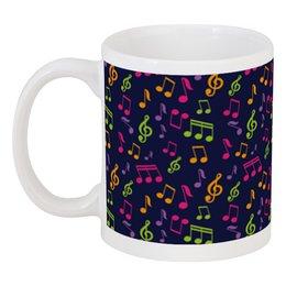 """Кружка """"Музыкальные ноты"""" - note, music, ноты, оркестр, симфония"""