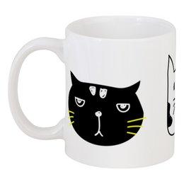 """Кружка """"Милые котики"""" - кот, животные, котики, прикольные коты"""