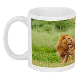 """Кружка """"ТОЛЬКО МОЯ"""" - любовь, семья, львица, лев, природа"""