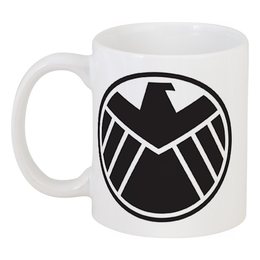 "Кружка ""Agents of s.h.i.e.l.d"" - щит, shield, фил колсон"