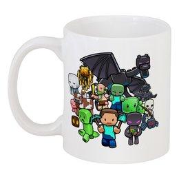 "Кружка ""Майнкрафт"" - игры, minecraft, майнкрафт, геймерские"