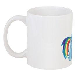 "Кружка ""Rainbow Dash ciderholic :)"" - rainbow dash, mlp, my little pony, дэш, cider"