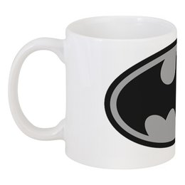 """Кружка """"Batman"""" - batman, бэтмен, супергерой, бэтмэн, человек-летучая мышь"""