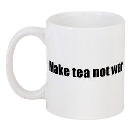 """Кружка """"Пацифик"""" - not war, make tea"""